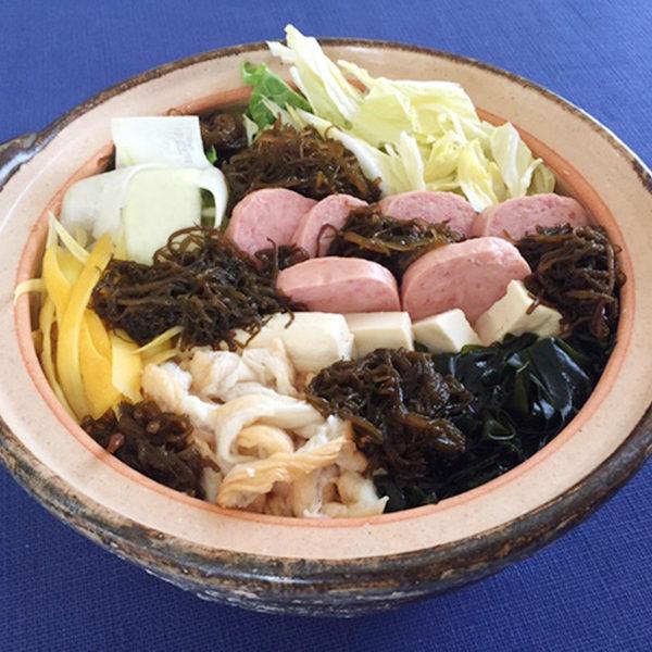 沖縄風もずく鍋